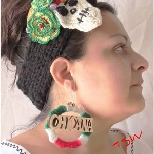 As Featured on BuzzFeed-CHICANA WOOD HOOP EARRINGS